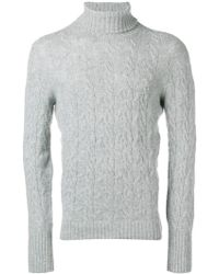 Drumohr - Turtle Neck Sweater - Lyst