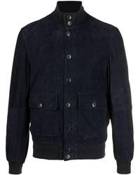 Altea スエードジャケット - ブルー