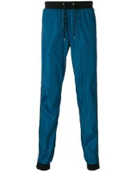 Andrea Crews - Side-stripe Track Trousers - Lyst