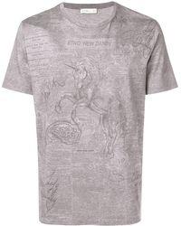 Etro - プリント Tシャツ - Lyst