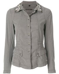 Marc Cain | Embellished Button Jacket | Lyst