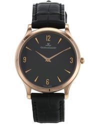 Jaeger-lecoultre 2010 Pre-owned Master Ultra Thin 34mm - Black