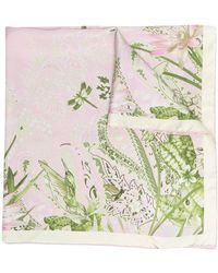 Etro Платок С Принтом - Розовый