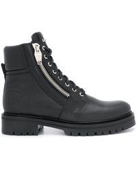 Balmain Ботинки С Тисненым Логотипом - Черный