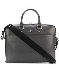 Vivienne Westwood - Logo Plaque Laptop Bag - Lyst