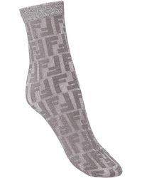 Fendi - モノグラム靴下 - Lyst