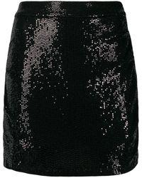 Marcelo Burlon スパンコール スカート - ブラック