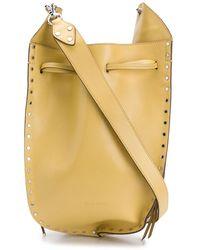 Isabel Marant Taj Satchel Bag - Yellow