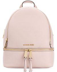 MICHAEL Michael Kors Rhea Backpack - Roze