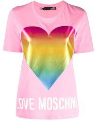 Love Moschino ラッフルトリム ジャケット - ピンク