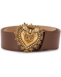 Dolce & Gabbana - Cinturón Devotion - Lyst