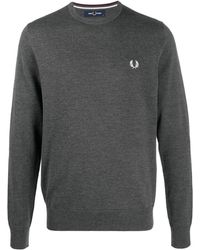 Fred Perry - ロゴ スウェットシャツ - Lyst