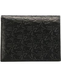 Givenchy Portefeuille à étoiles embossées - Noir