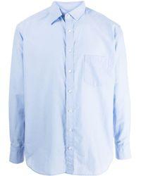 Kolor クラシック シャツ - ブルー