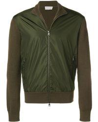 Moncler Zipped up cardigan - Vert
