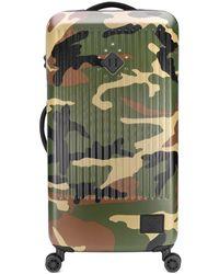 Herschel Supply Co. Maleta Trade con motivo militar - Verde