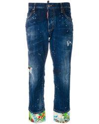 DSquared² - Boyfriend Jeans - Lyst