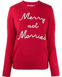 Mc2 Saint Barth Marry Not Married プルオーバー - レッド