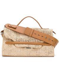 Zanellato - Woven Detail Shoulder Bag - Lyst