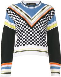 Versace - Patterned Jumper - Lyst