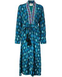 Figue Olatz Kimono Top - Green