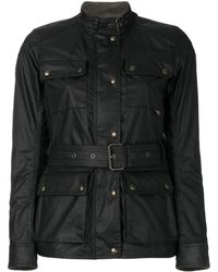 Belstaff Roadmaster Fitted Jacket - Black