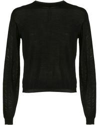 Rick Owens シアー セーター - ブラック
