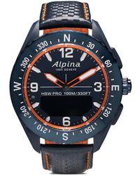 Alpina Наручные Часы Alpinerx Smartwatch 45 Мм - Синий