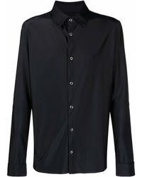 Marine Serre Camisa con estampado gráfico - Negro