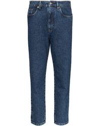 Miu Miu Brigitte High-waisted Jeans - Blue