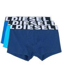 DIESEL - Pack Of Three Boxers - Lyst