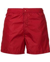 Moncler - Side Stripe Swim Shorts - Lyst