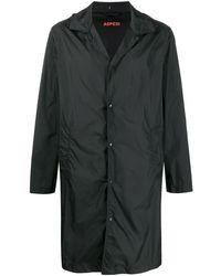 Aspesi - Hooded Classic Collar Rain Jacket - Lyst