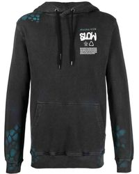Mauna Kea ロゴ パーカー - ブラック