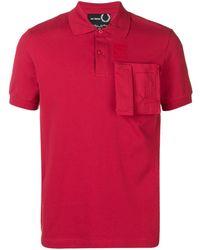 Fred Perry パッチポケット Tシャツ - マルチカラー