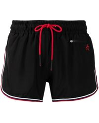 Perfect Moment Shorts con coulisse arcobaleno - Nero