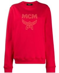 MCM ロゴ プルオーバー - レッド