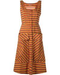 LHD チェック ドレス - マルチカラー