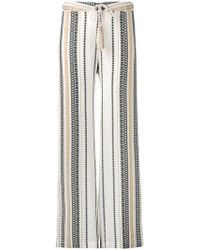 Zeus+Dione - Embroidered Straight Trousers - Lyst