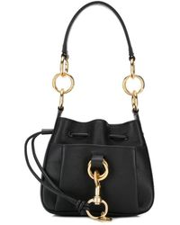 See By Chloé Tony Mini Bucket Bag - Black