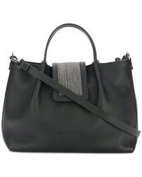 Fabiana Filippi - Embellished Foldover Bag - Lyst