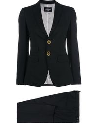 DSquared² - Button-embellished Suit - Lyst