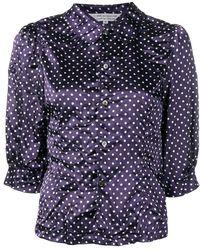 Comme des Garçons - Polka Dot Print Shirt - Lyst
