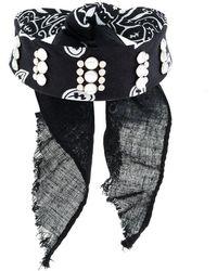 DANNIJO - Rocka Studded Bandana Choker - Lyst