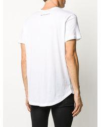 Ann Demeulemeester グラフィック Tシャツ - ホワイト