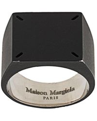 Maison Margiela Zegelring - Zwart