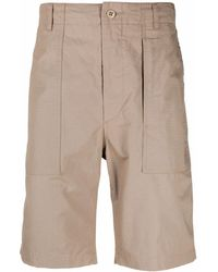 Engineered Garments Wide-leg Bermuda Shorts - Natural