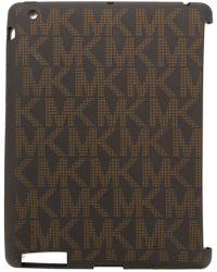 MICHAEL Michael Kors Monogram Tablet - Brown