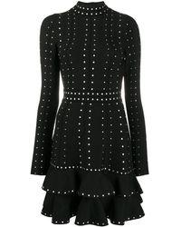 Sandro Asya Stud-embellished Dress - Black