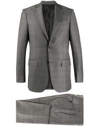 Ermenegildo Zegna Anzug mit schmalem Schnitt - Grau